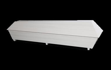 Puuarkku valkoinen arkku ruumisarkku kannel mäntyarkku honka-arkku designarkku design