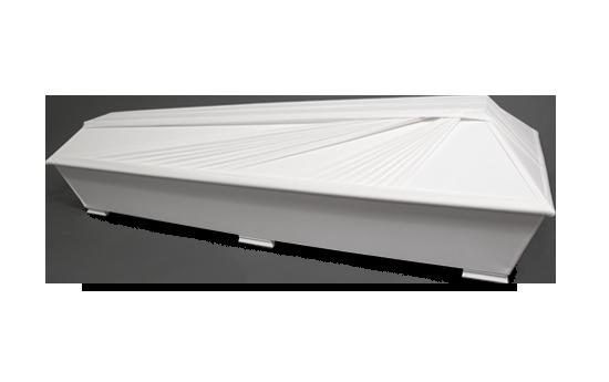 pellava-arkku valkoinen